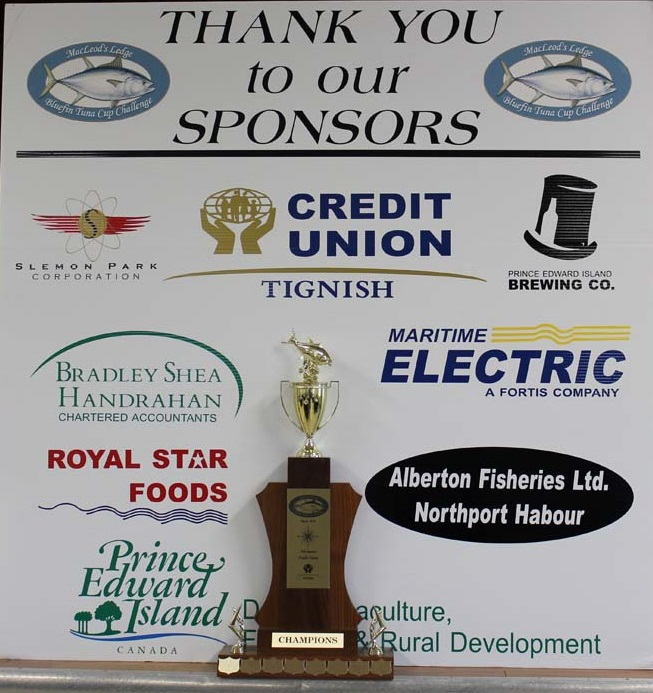 Thank you to all of the sponsors of the 2013 MacLeod's Ledge Bluefin Tuna Cup!